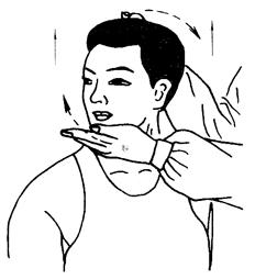 图17-2颈部提转法