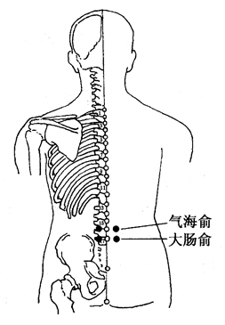 图3-10-1气海俞、大肠俞